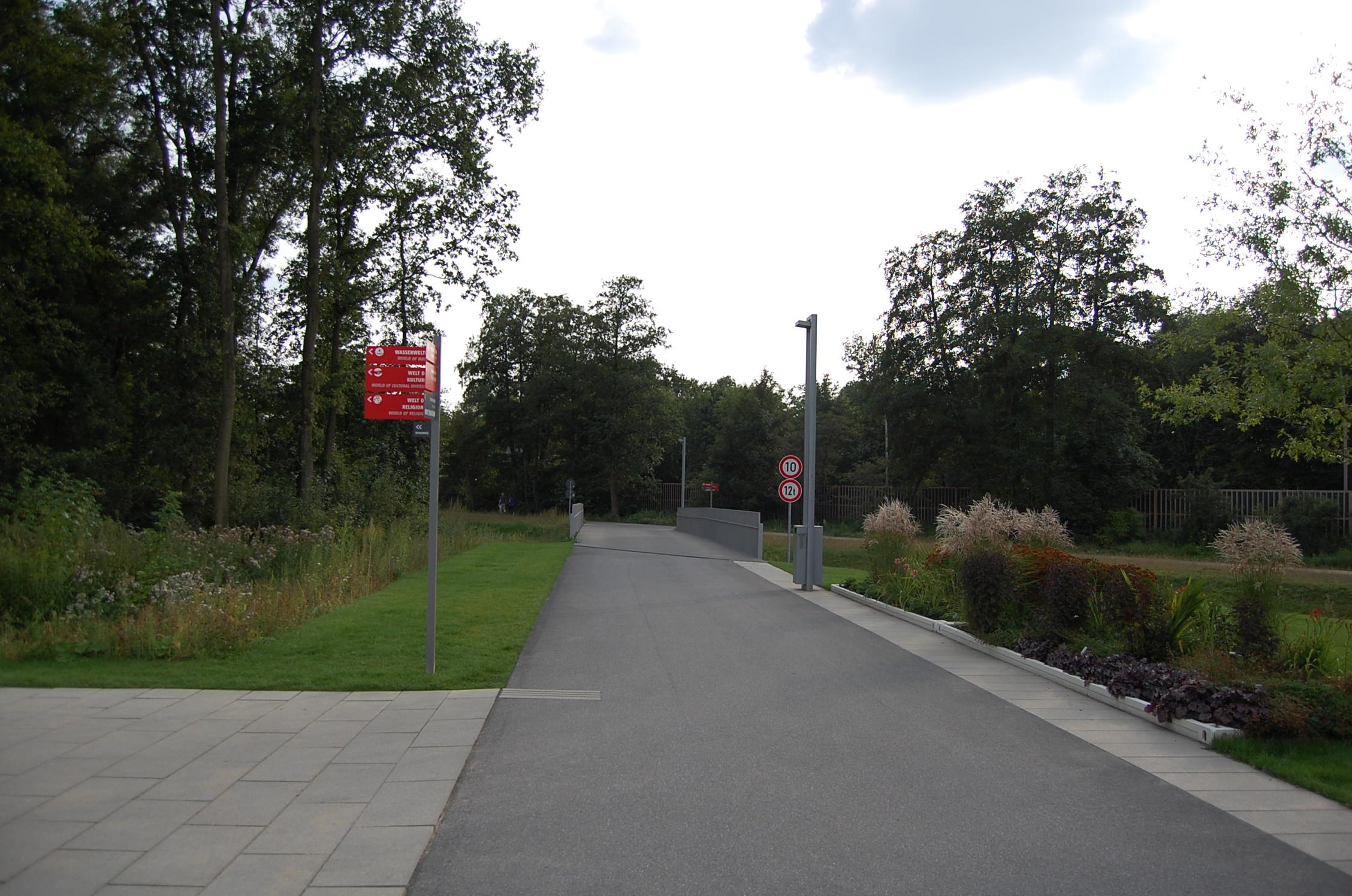 Rundgang: die 3000m Laufstrecke auf der Internationalen Gartenschau (Wilhelmsburg)